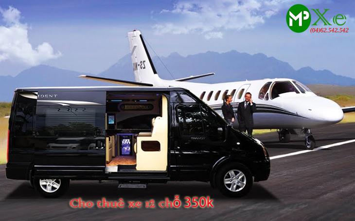 Cho thuê xe du lịch 12 chỗ hà nội